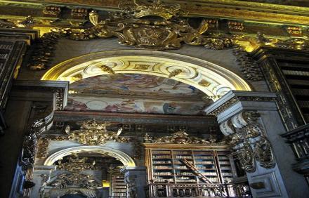 Biblioteca Geral, Coimbra Üniversitesi - Portekiz