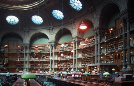 Bibliotheque Nationale de France, Fransa