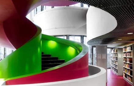 Cottbus Kütüphanesi, Almanya