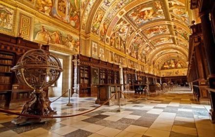 El-Escorial Library - İspanya
