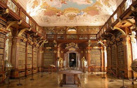 Melk Manastırı Kütüphanesi - Avusturya