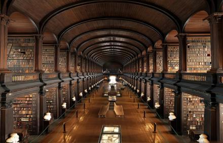 Trinity - Koleji Kütüphanesi - İrlanda